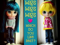 Wigs Wigs Wigs - 46/365  ADAD