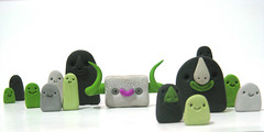 ghosts&monsters ((((sam)))) Tags: monster illustration ghosts playdough saam samkeshmiri