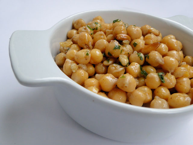 ... are Dishes with Chickpeas. Off with crispy, crunchy chickpeas