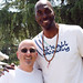 John Salley and me