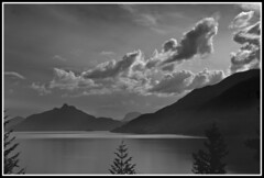 Mountains B & W (gsbhatthal) Tags: mountains vancouver whistler nikon bc d2x 2011 d2xs