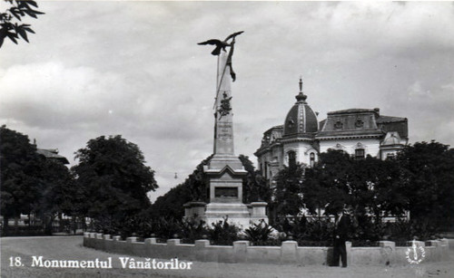 Monumentul Vanatorilor - 1934