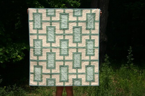 Mod Times Quilt - finished!