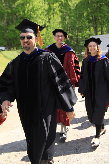 Professors Walking Forth