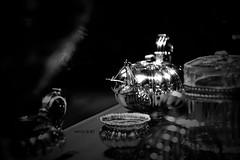 (Weda3eah*) Tags: bw white 3 black paris france silver time tea qatar qtr pokeh weda3eah