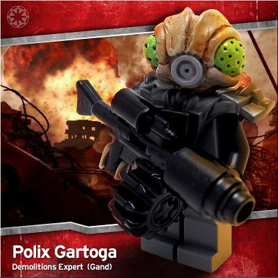 Polix Gartoga custom minifig