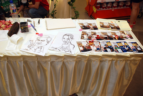 Caricature live sketching for The Cocoa Trees - Part 3 - 15