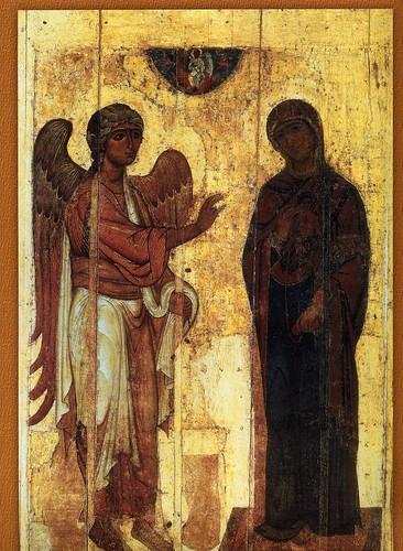 021- La anunciacion de la virgen Ustyuzhskoe 1119-1180
