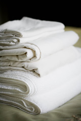 whites (embem30) Tags: sheets towels folded
