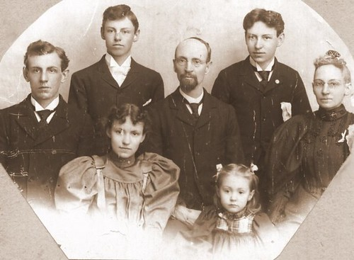 Duvillo, Alanson Perry, William, Forrest, Eva, Adelaide & Marjorie Holly