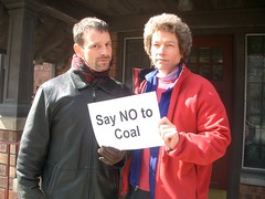 Mike & Gen: Ann Arbor, Michigan (Ecology Center) Tags: nocoal