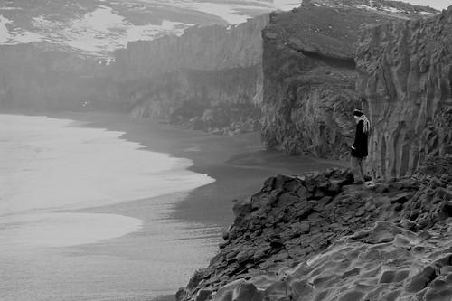 Côte d'Islande, monochromes