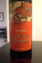 ReVah Sparkling Pomegranate Wine