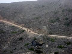 Distant runners - 2007 (jakerome) Tags: california catalina losangeles unitedstates marathon running jakepix bocm catalinamarathon 78kmsoflosangeles catalinamarathonrunning