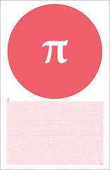 Pi Poster (DLGNCE) Tags: poster typography graphicdesign pi type stuartwade