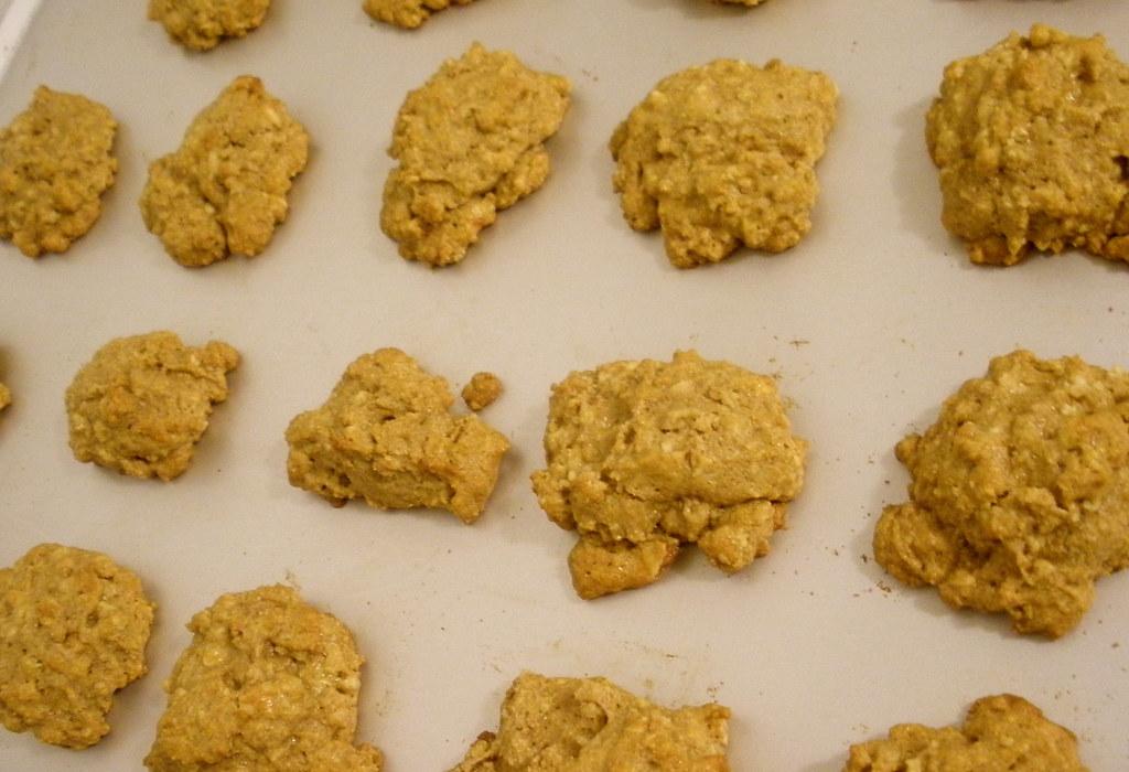 Maple Granola Cookies