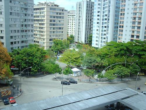 Praça José de Alencar no Flamengo, Rio de Janeiro, Brasil