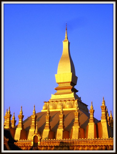 Pha That Luang - The Golden Stupa