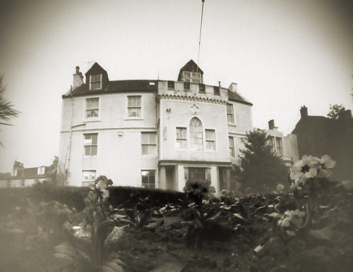 Kirkton hall pinhole image on paper