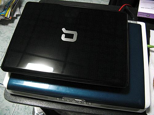 Compaq CQ20-115TU on Dell Inspiron E1505