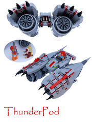 (Rogue Bantha) Tags: starwars lego thundercats snarf liono fbtb podracer