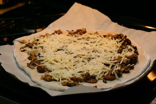 Mushroom-Leek Pizza… | Art is the Handmaid of Human Good