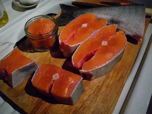 fish flesh