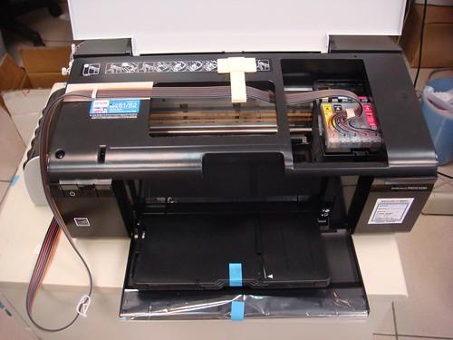 Epson R290+連續噴墨系統