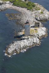 Dutch Island Lighthouse, Rhode Island (nelights) Tags: usa lighthouse aerial rhodeisland jamestown narragansettbay saunderstown dutchisland rhodeislandlighthouses dutchislandlight rhodeislandlighthouse dutchislandlighthouse westpassage