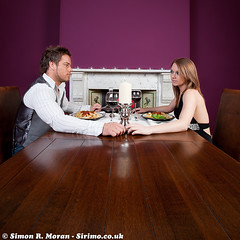 Romantic meal in by Sirimo