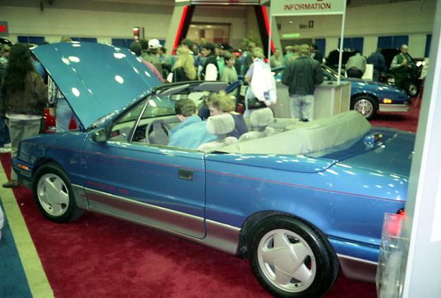 shadow convertible dodge 1991 mopar carshow shadowes baltimoremd baltimoreconventioncenter fwdmopar motortrendinternationalautoshow