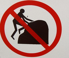No rock climbing sign (phototouring) Tags: signs man sign rock stone wall danger climb rocks stones no forbidden climbing figure stickfigure walls prohibido stickfigures figures prohibited donot donotclimb notallowed noclimbing notpermitted onwall prohibitive norockclimbing