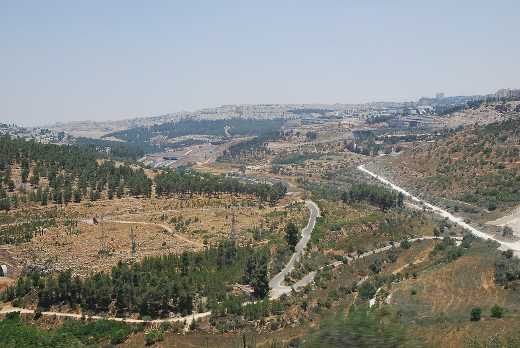 View from Jerusalem to Nazareth