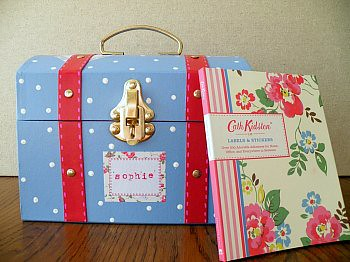 Cath Kidston Inspired Doll Trunk