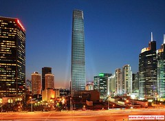Beijing's Tallest Building - China World Trade Center Tower 3   -  (Meiguoxing) Tags: world china new building tower architecture modern skyscraper arquitectura dubai shanghai centre beijing landmark structure architect khalifa som architektur  sight   trade  peking attraction attractions burj rascacielos wolkenkratzer  pkin gratteciel pechino  shanghaiworldfinancialcenter      chinaworldtower3  chinaworldsummitwing   nationalfinancialinformationbuilding   chinazun