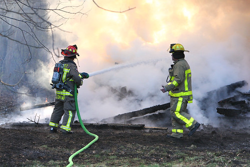 Dewey Road Barn Fire