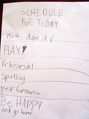 kid to do list, list, Be happy and go ho by Carissa GoodNCrazy, on Flickr