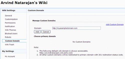 zoho-wiki-custom-domain