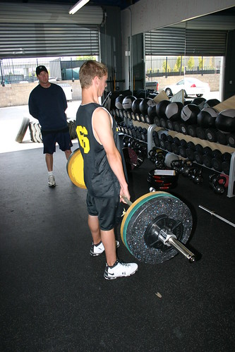 Basketball Deadlift with Super Dave