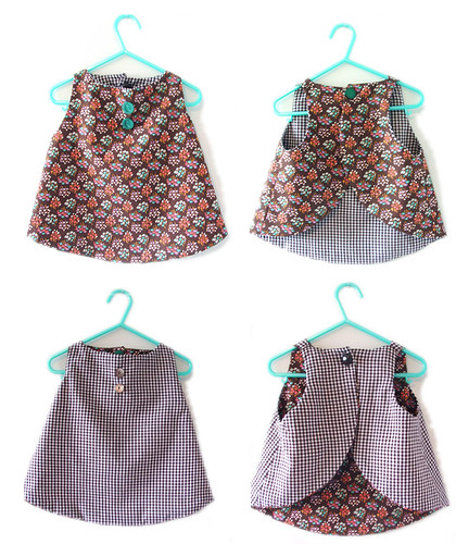 reversible pinafore-popover 12-18m size