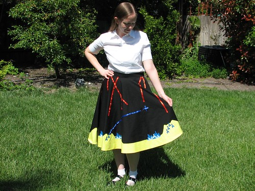 Missile Command Skirt 23