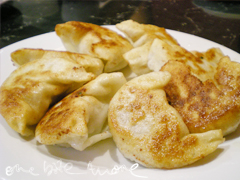 burnished bottomed dumplings