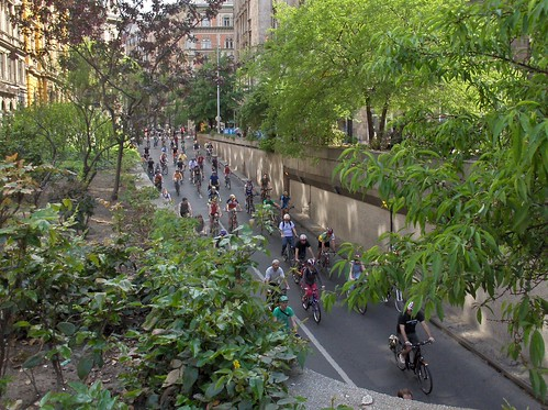 Critical Mass Budapest: Ferenciek tere - Károlyi Mihály utca