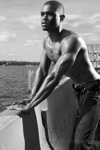 Model:  Shamar Griffin