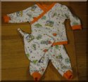 Spacemen 3 pc infant boy set