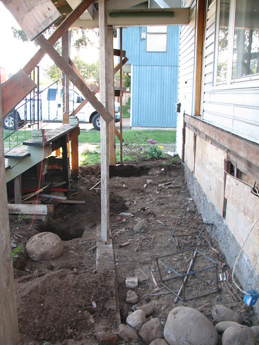 Porch reconstruction