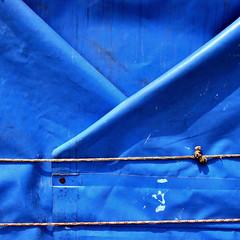 (Katerina.) Tags: blue vivid minimal diagonal twocolors 500x500 haphazart haphazartblue colourartaward ministract haphazartsquare