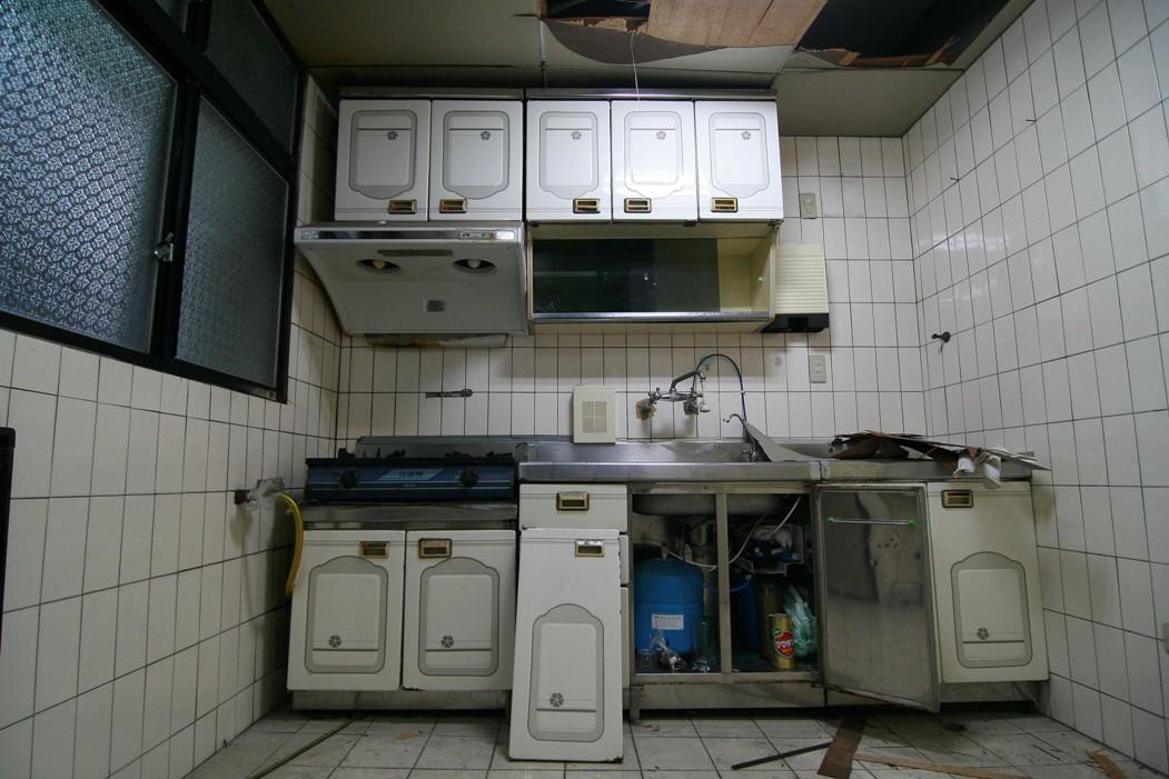 拆之前-原屋主廚具