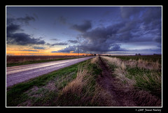 Take Me Home, Country Road. (James Neeley) Tags: sunset landscape idaho hdr idahofalls countryroad 5xp mywinners jamesneeley vosplusbellesphotos