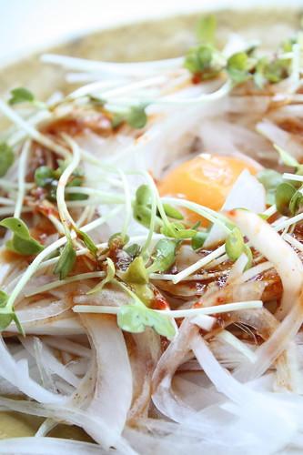 Gochujang onion salad